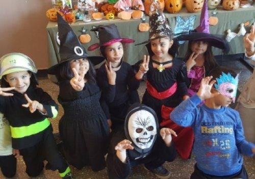 Хелоуин в училище